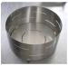 Forma de aço inox cilíndrica para queijo  de até 2,400kg. Básica