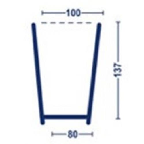 Forma para ricota de 0,500kg